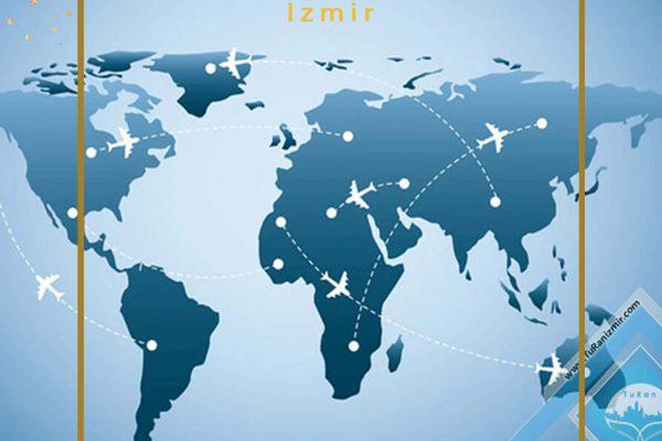 سایت اطلاعات پرواز ازمیر | توران ازمیر | اطلاعات پرواز ازمیر ترکیه