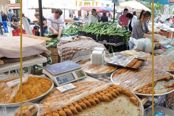 بازارهای هفتگی مناطق مختلف ازمیر