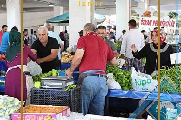 بازارهای هفتگی بایراکلی