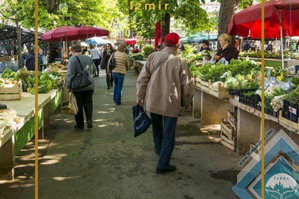 بازار روز کارابالار ازمیر