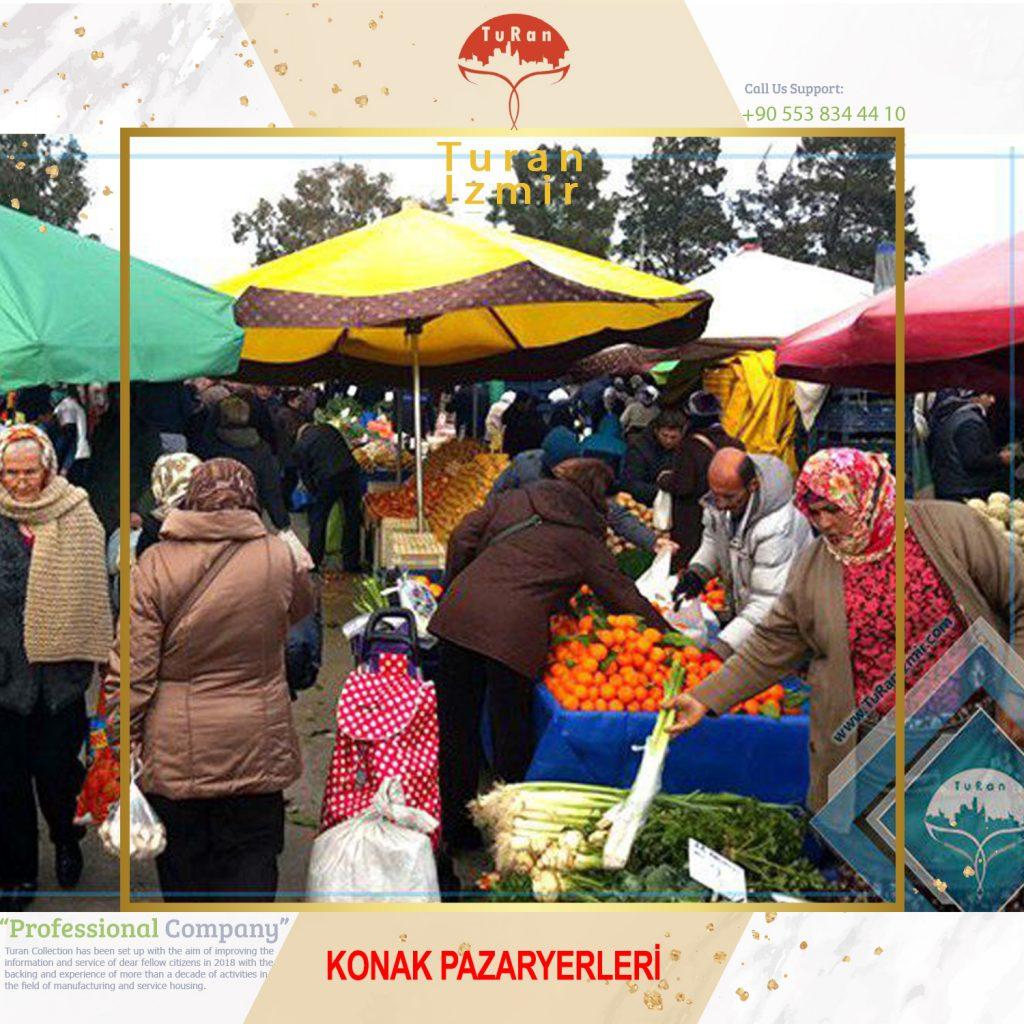 بازار روز کناک KONAK PAZARYERLERİ