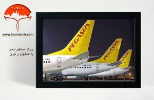 پرواز مستقیم ازمیر به اصفهان و تبریز   توران ازمیر   پرواز ازمیر به ایران
