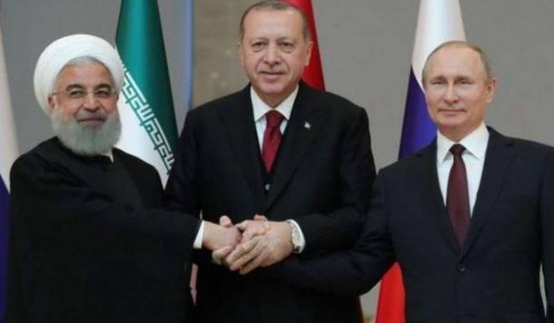 اردوغان میزبان حسن روحانی و ولادیمیر پوتین میشود | توران ازمیر | سفر حسن روحانی و ولادیمیر پوتین به ترکیه