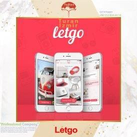 نرم افزار خرید و فروش نو و کارکرده لتگو | توران ازمیر | اپلیکیشن letgo |نرم افزار کاربردی لتگو در ترکیه