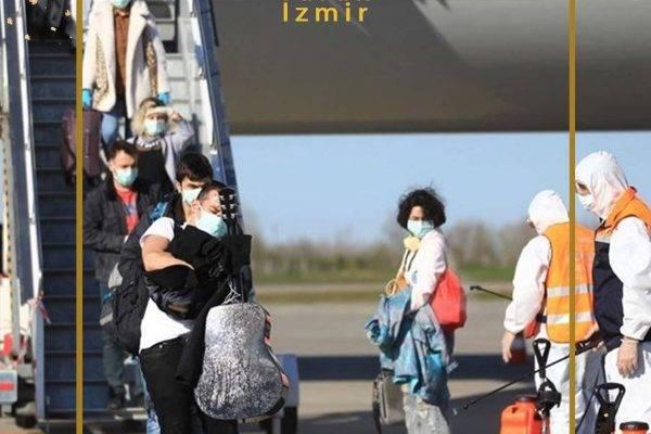بازگرداندن شهروندان ترکیه از کویت و هلند و آمریکا