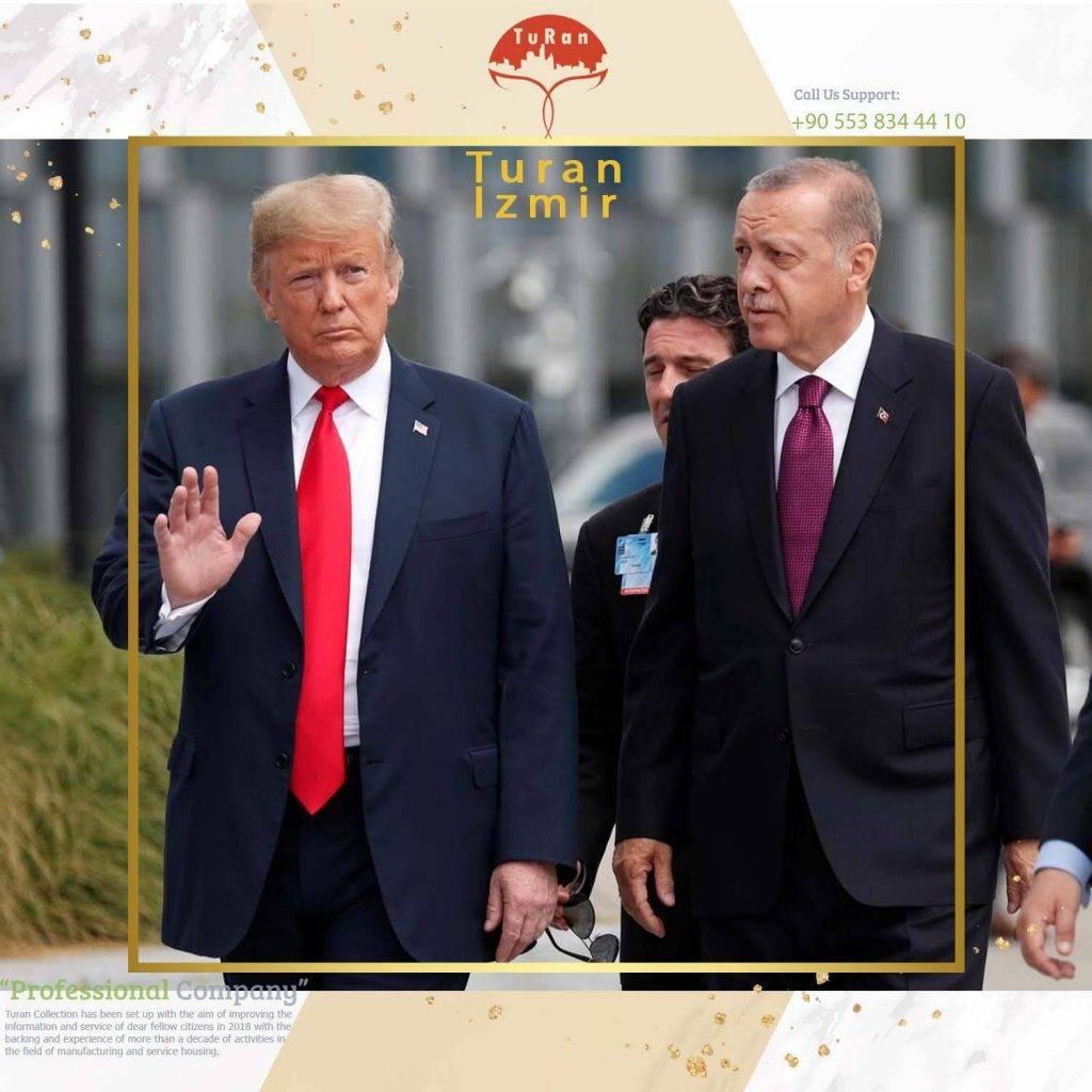 گفتگوی تلفنی ترامپ و اردوغان پیرامون روابط دوجانبه و آخرین تحولات منطقه