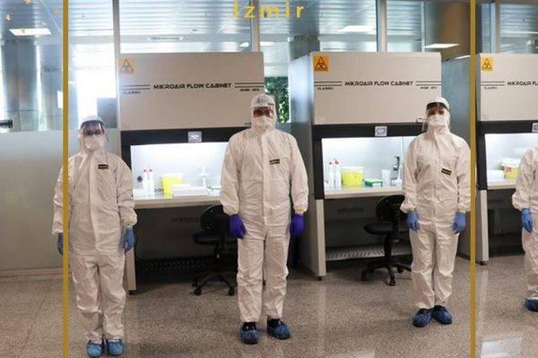 تست سریع کرونا برای گردشکران در فرودگاه ازمیر
