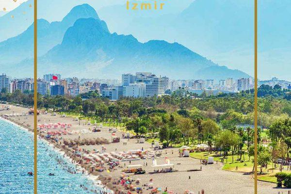 سفر 325 هزار گردشگر به آنتالیا