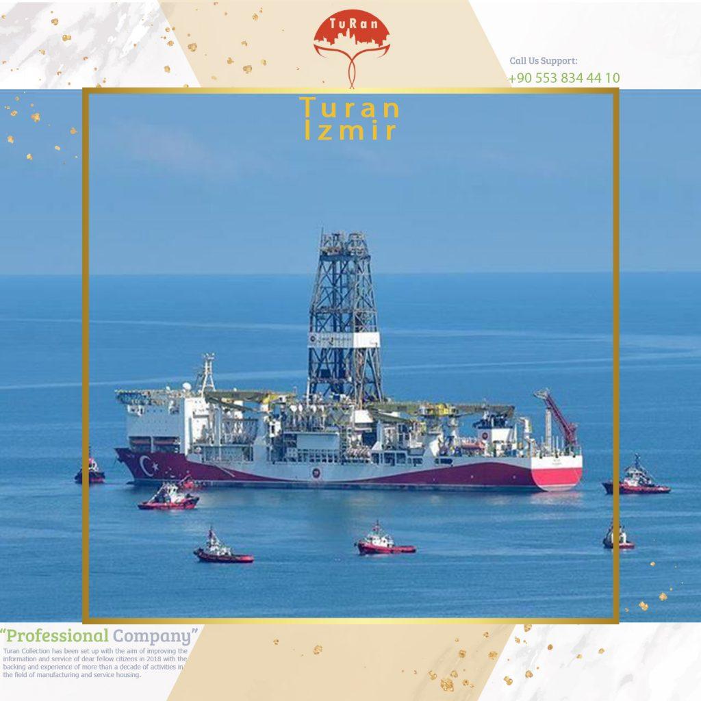 کشف بزرگترین میدان گازی ترکیه در دریای سیاه