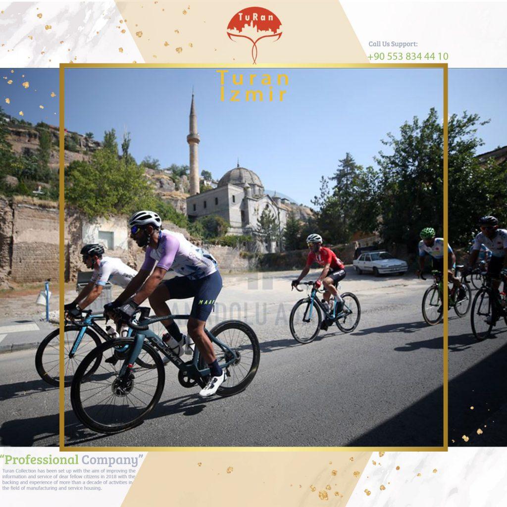 دوچرخه سواری در کوه ارجیس ترکیه