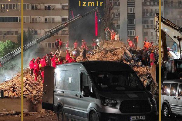 شمار قربانیان زلزله ازمیر