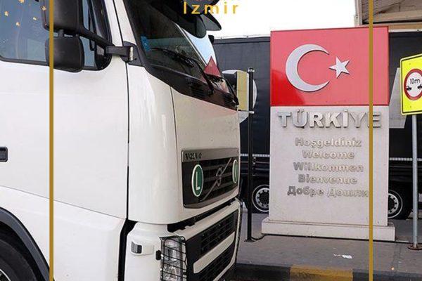 رکورد تردد کامیونها از گذرگاههای مرزی ترکیه