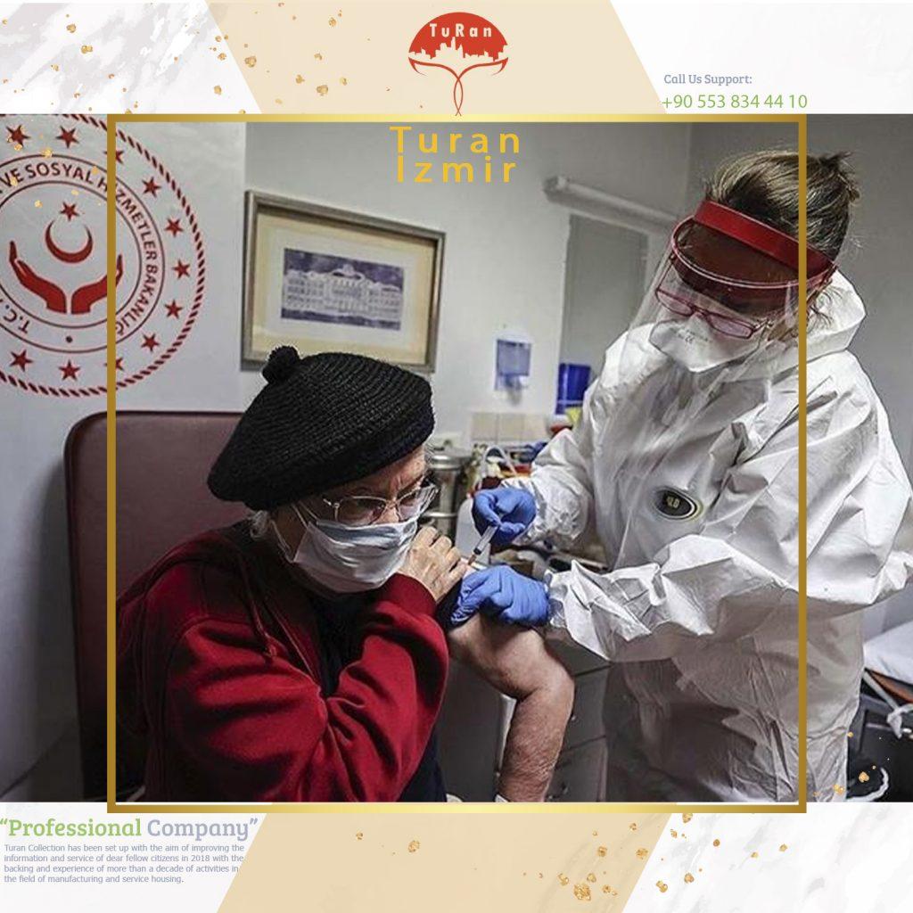 آغاز روند واکسیناسیون کرونا در مراکز نگهداری سالمندان ترکیه