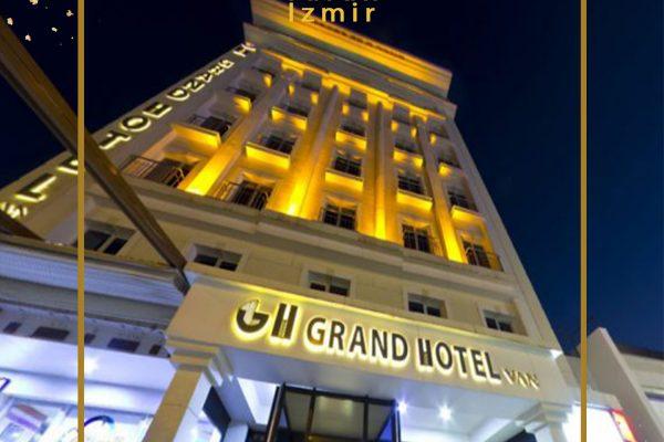 هتل گرند وان | هتل گرند وان ترکیه | گراند هتل شهر وان ترکیه | توران ازمیر