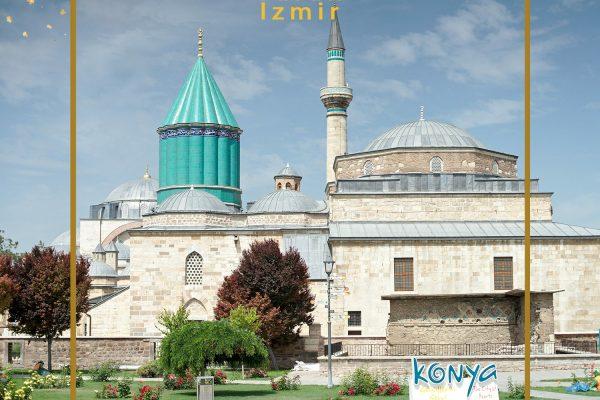 شهر قونیه   قونیه ترکیه   زندگی در شهر قونیه   شهر مولانا   آرامگاه مولوی   توران ازمیر